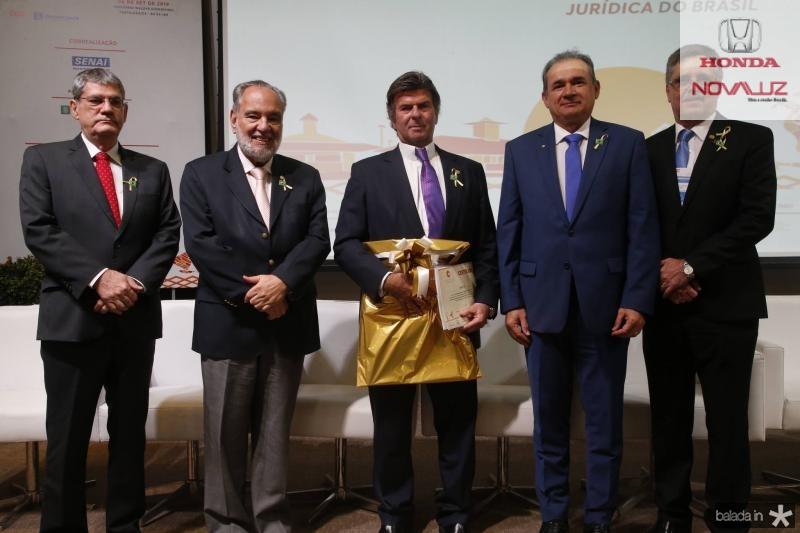 Adalberto Valadao, Sylvio Campanema, Luiz Fux, Washington Araujo e Carlos Gama