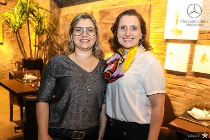 Veridiana Brasileiro e Andrea Dallolio