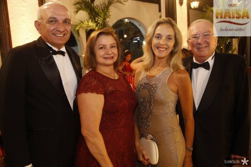 Licinio e Helena Correa, Euni Saker e Valmir Pontes