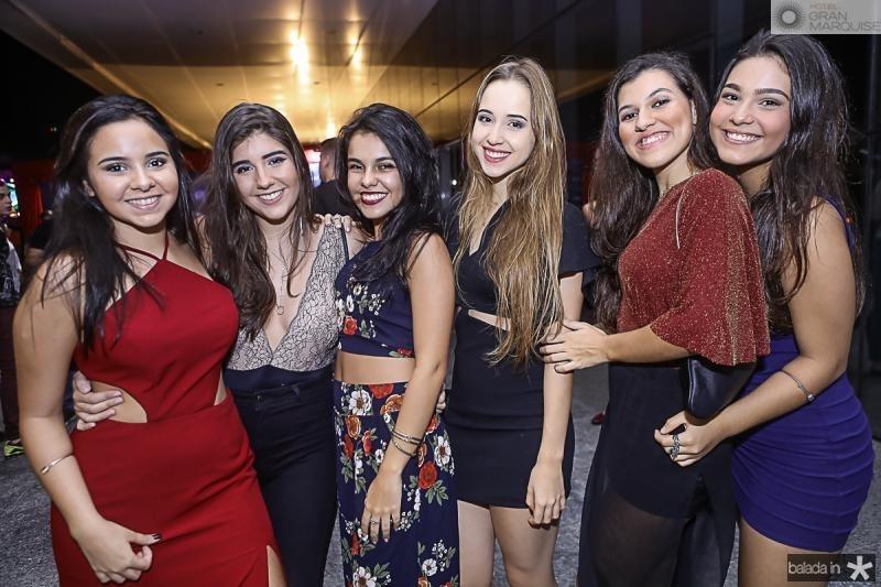Gabriele Pontes, Bruna Memoria, Geovana Blanch, Naira Rielo, Livia Leite e Amanda Braga