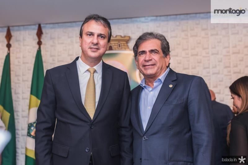 Camilo Santana e Zezinho Albuquerque