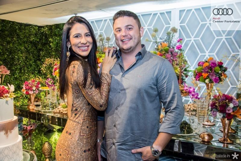 Lorena Leao e Carlos Sobreira