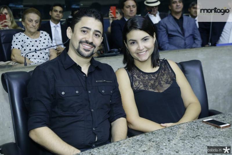 Alex Forte e Vitoria Borba