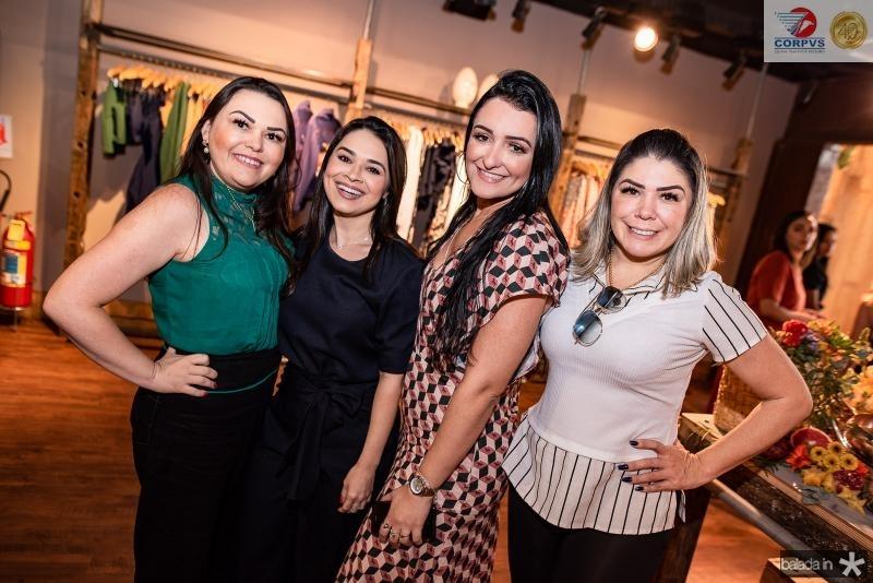 Isabel Lima, Debora Oliveira, Leudiana Braga e Magda Lima