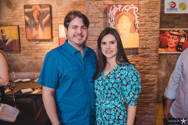 Bosco Filho e Claudia Rios