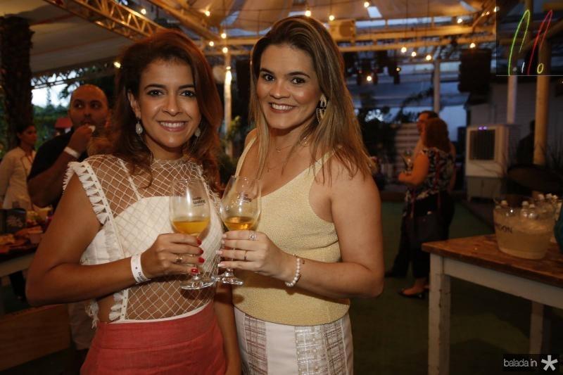 Sabrine Gondim e Livia Cavalcante