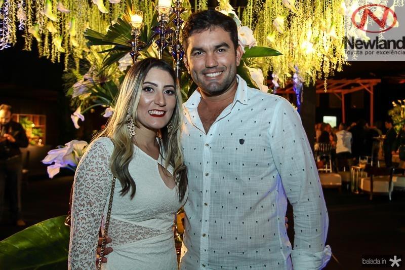 Andrea Moreno e Davi Facundo