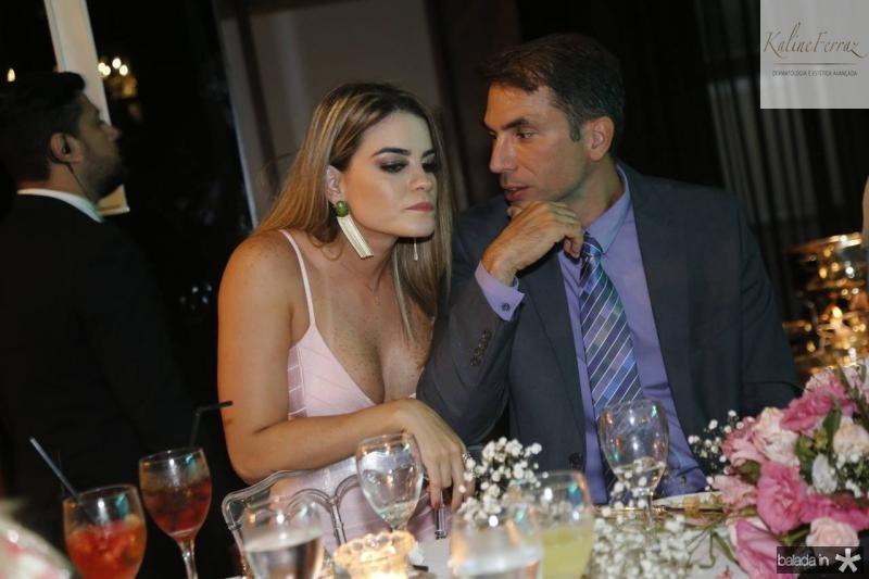 Mimi Braz e Luiz Montenegro