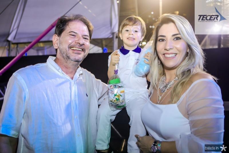 Cid, Pedro e Maria Celia Gomes