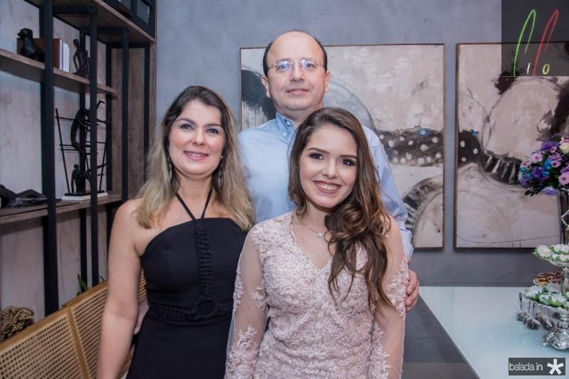 Renata Reis, Dito Reis e Giovanna Freund Bezerra