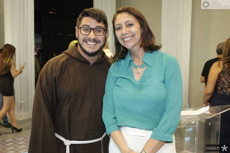 Frei Walter Malvera e Linda Tavares