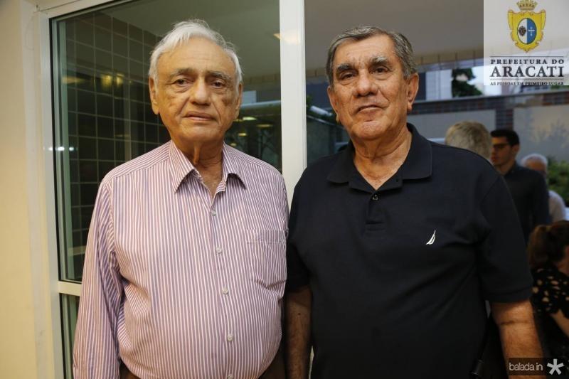 Leorne Belem e Bairon Frota