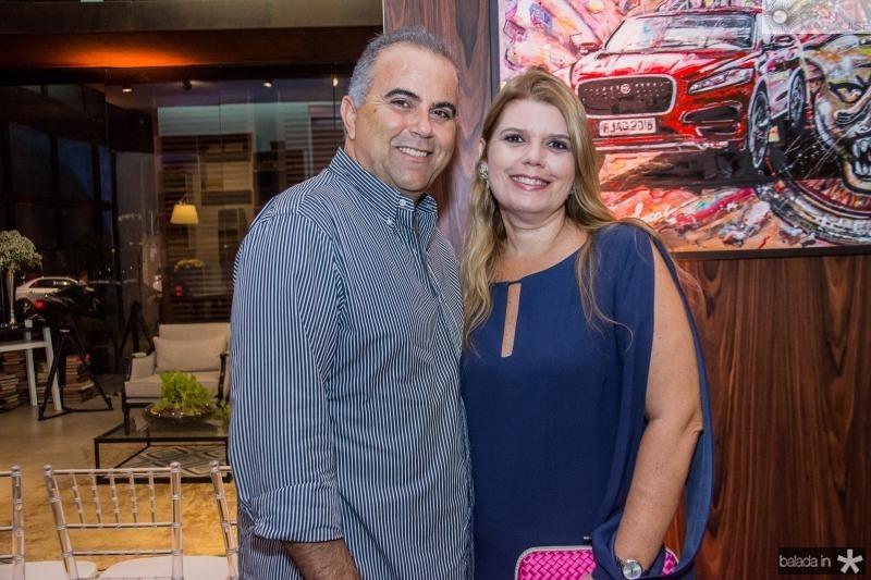 Valdizio e Danielle Pinheiro