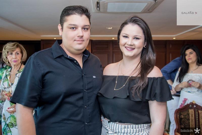 Igor Cordeiro e Livia Regis