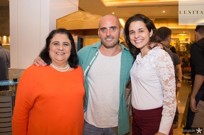 Magdalena Bonfim, Robert Moreno e Muriel Damaceno