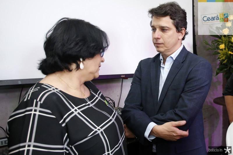 Damares Alves e Andre Siqueira
