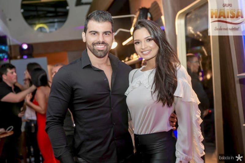 Charles Feijo e Tamylle Oliveira