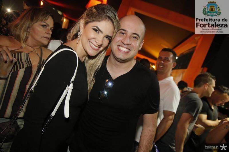 Andressa Macedo e Carlos Henrique