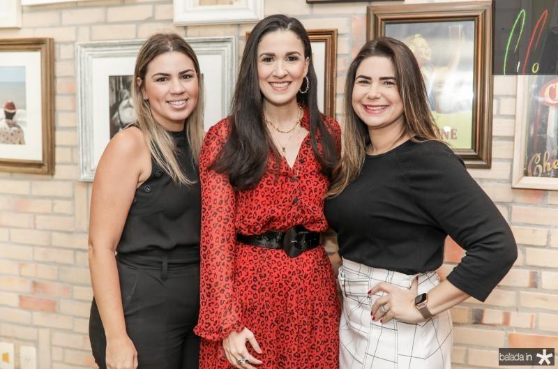 Ticiana Vieira, Giuliana Botelho e Ana Santos