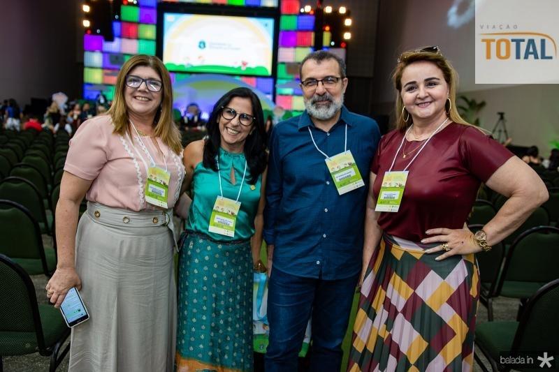 Luisa Aurelia, Maria Benildes, Rui Rodrigues e Paula Castellana