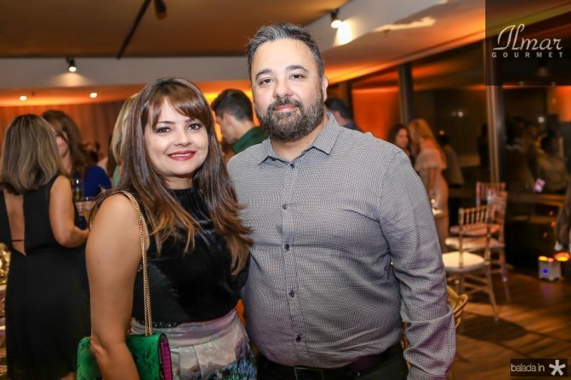 Kel Oliveira e Paulo Siqueira