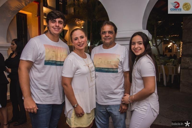 Joao Paulo, Samira, Vagner e Alodinha Guimaraes
