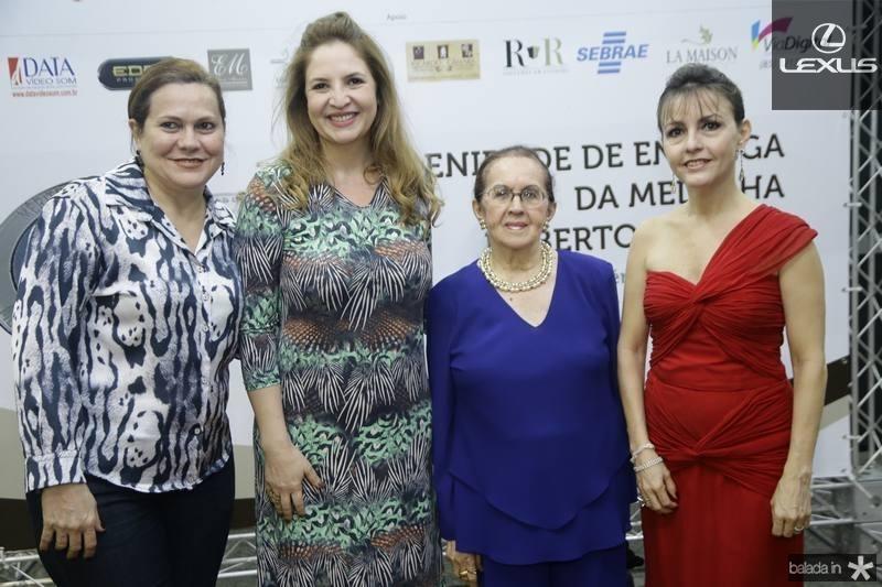 Marta Campelo, Enid Camara, Zenilde Matoso e Circe Jane