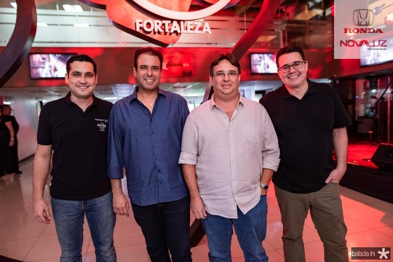Luis Sobreira, Fábio Campos, Roberto Saboia e Samuel Sicchhierolli