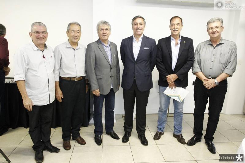Marcelo Maranhao, Wandocyr Romer, Clovis Nogueira, Nuno Rebelo, Armando Abreu e Carlos Maia
