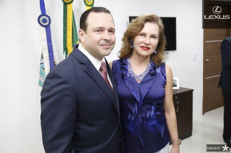Igor Barroso e Renata Jereissati