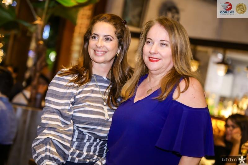 Marcia Andreia e Luiziane Cavalcante
