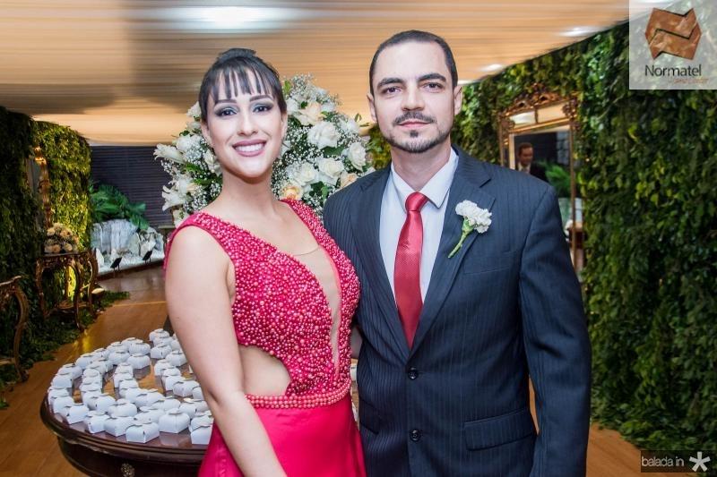 Georgia Pinho e Ariel Valente