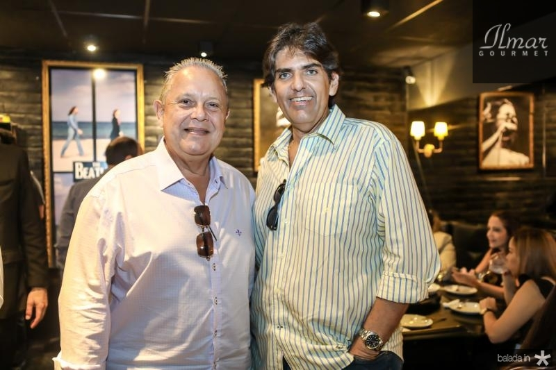 Fernando Capelo e Aldemir Pessoa