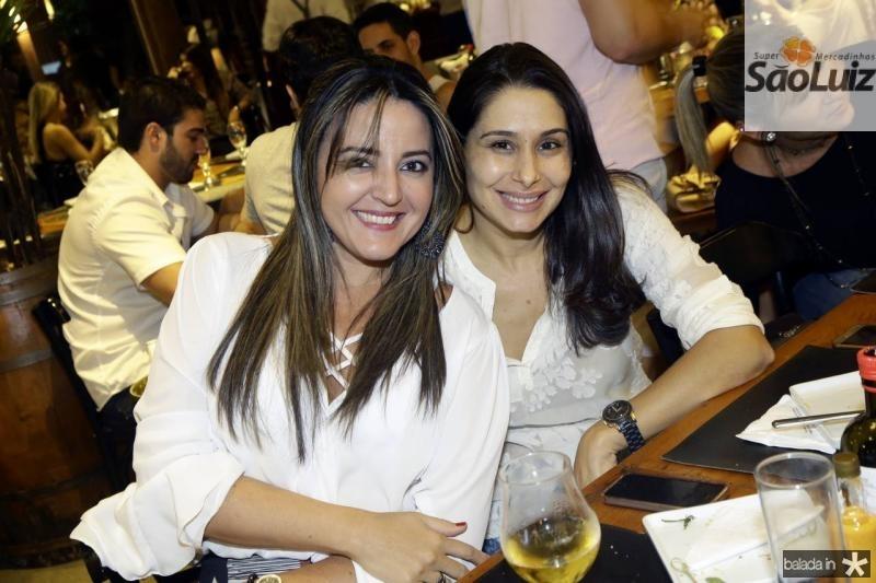 Sulamita Oliveira e Livia Leite