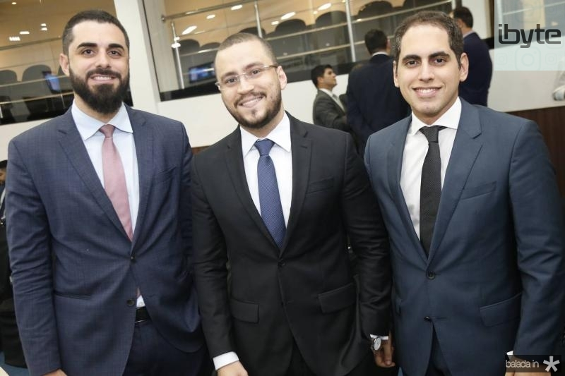 Andre Xerez, Renan Saldanha e Bruno Araripe