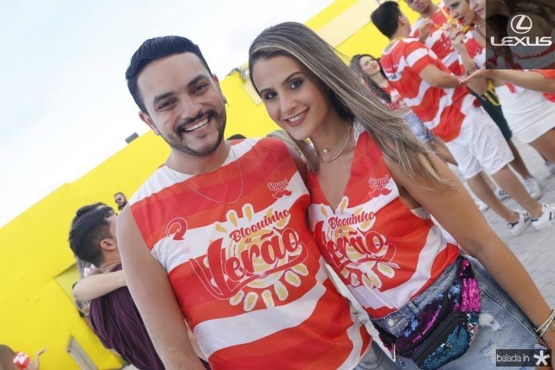 Felipe Jesus e Julia Vieira