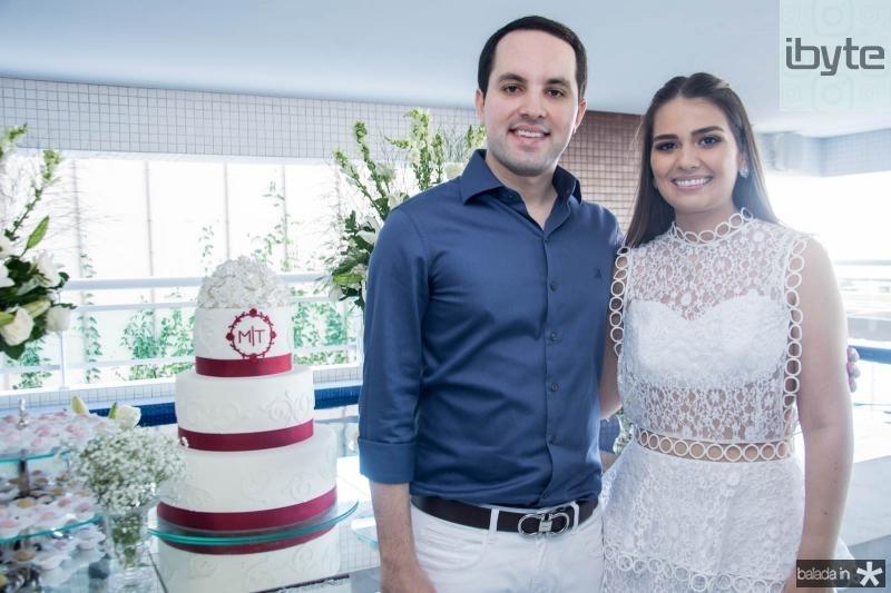 Tomas Moraes e Manuela Câmara