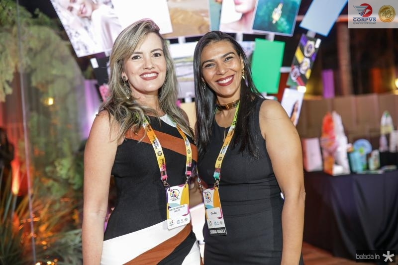 Suelly Vasconcelos e Claudia Ximenes