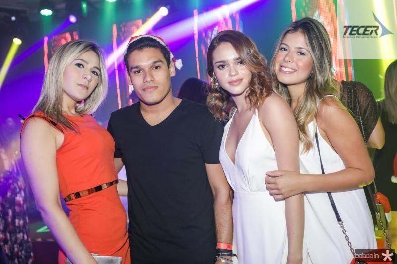 Angelica Aquino, Felipe Torres, Isabelle Prado e Carolina Daglio