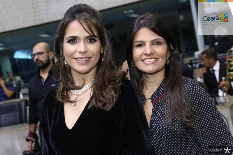 Camila e Ana Cintia Benevides