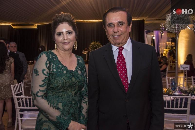 Ines Gladstone e Gaudencio Lucena