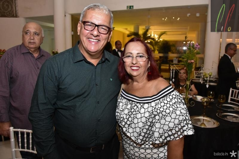 Luiz Antonio e Sandra Diniz