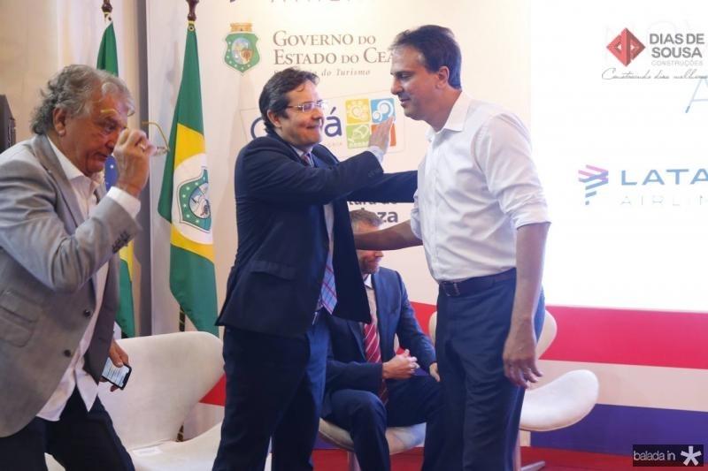 Eriberto Pontes e Camilo Santana
