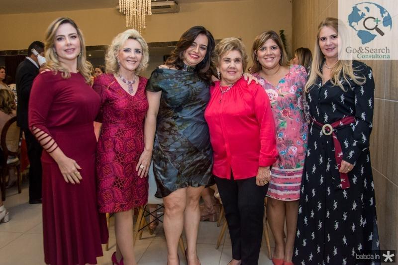 Suyane Dias Branco, Graça da Escossia, Lia Freire, Consuelo Dias Branco, Gisela Vieira e Morgana Dias Branco