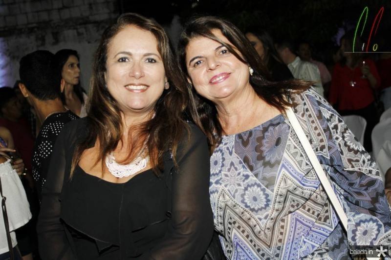 Ana Luiza Costa Lima e Simone Medeiros