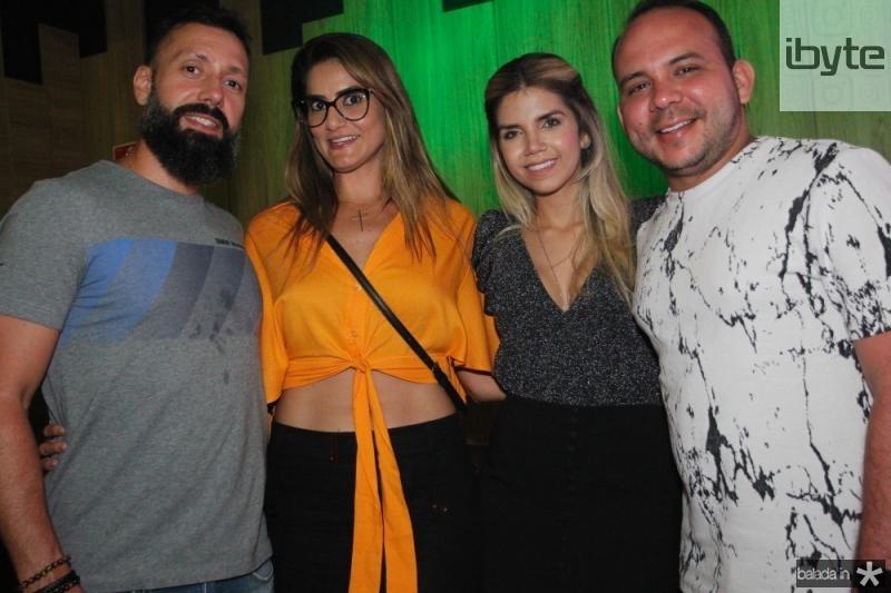 Fabio Zambeli, Beth Polly, Sarah e Daniel Meireles