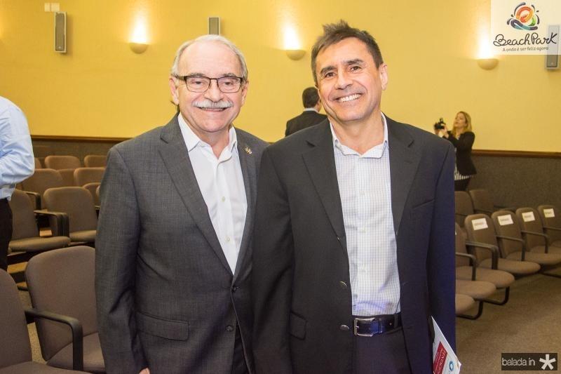Ednilton Soarez e Pedro Lima