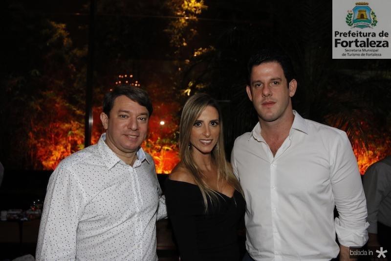 Paulo Vale, Patricia Lima e Dudu Carneiro