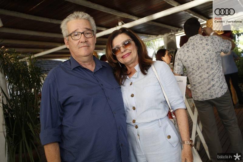 Gilson Gondim e Denise Arruda