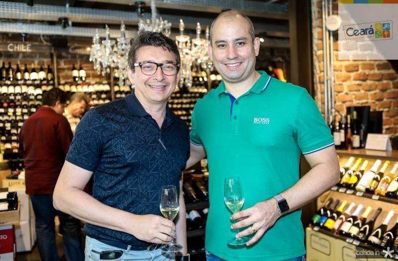 Racine Mourao e Andre Linheiro